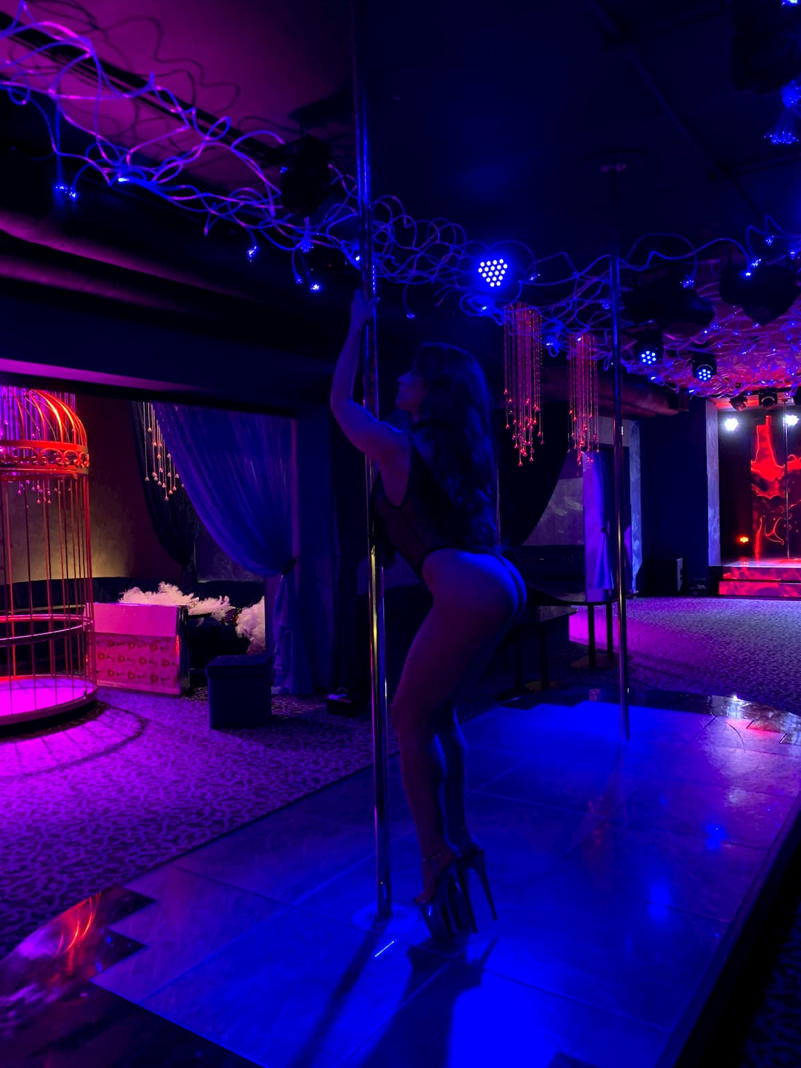luxury strip club in Kiev