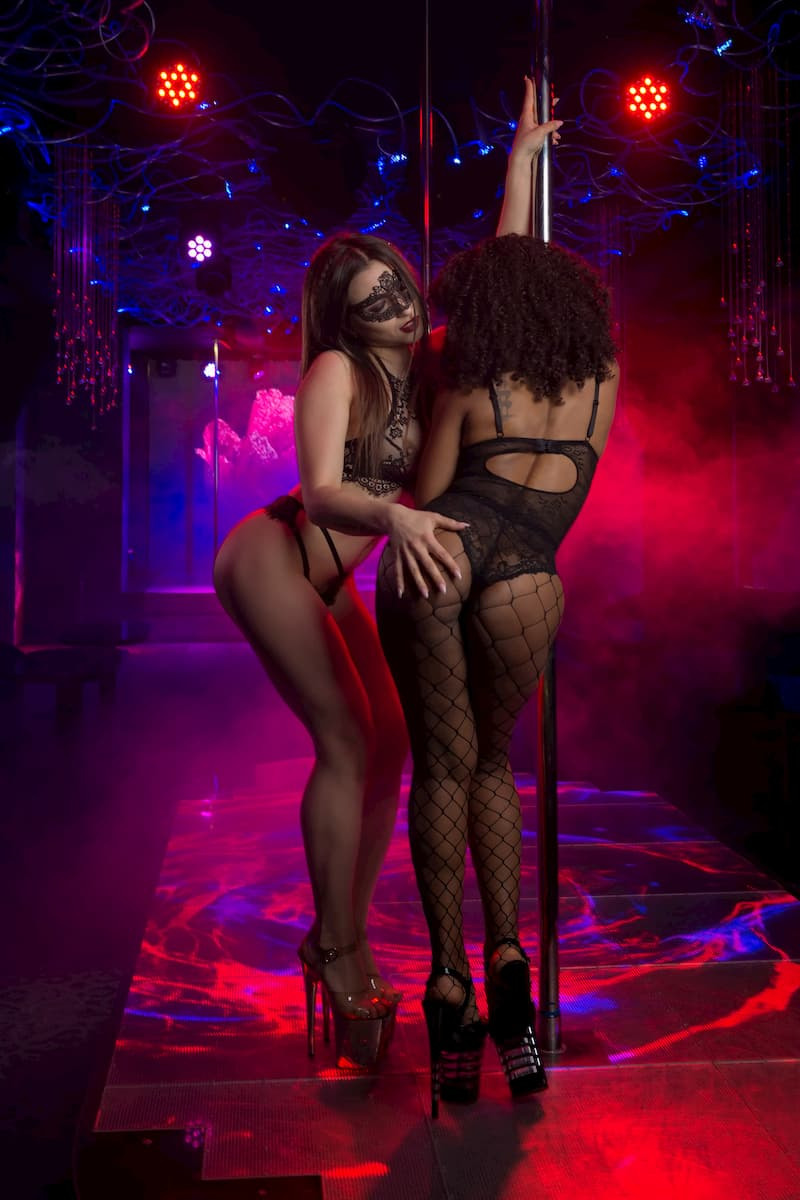 Erotic strip club in the center of Kiev