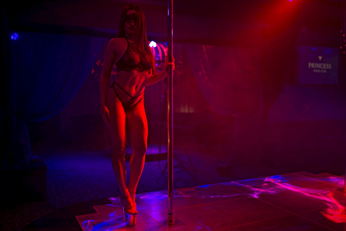 strip club in the centre of Kyiv
