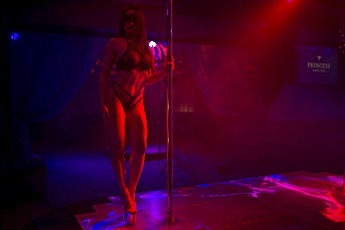 erotic striptease in the capital of Ukraine - Kiev